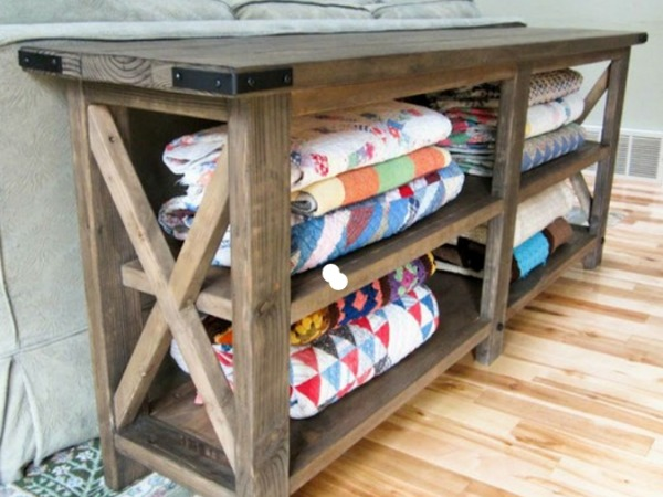 Don't hide your handmade treasures, instead check out these cool quilt storage container ideas and use them to decorate your space.