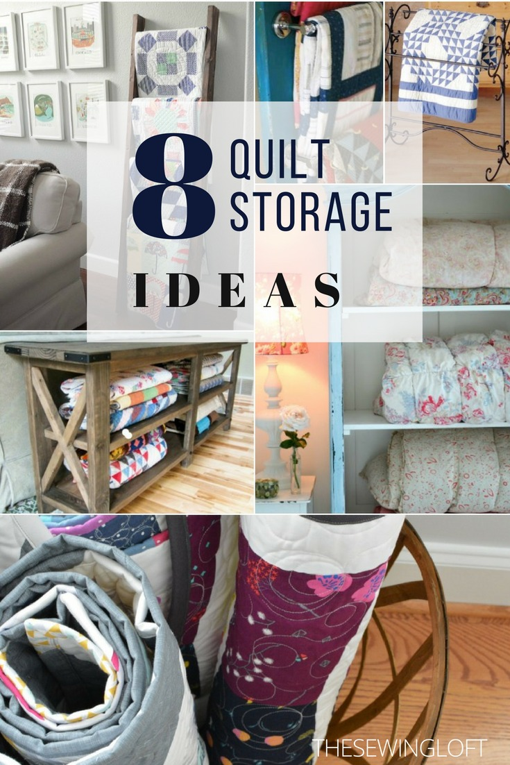 Turn your handmade treasures into works of art with these cool quilt storage container ideas. Each one is perfect for displaying and decorating your space.