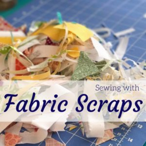Scrap Fabric Sewing | Pineapple Block