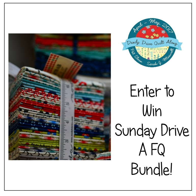 Come stitch along with us on the Dandy Drive quilt tour. Each week there will be fun prizes and friends.