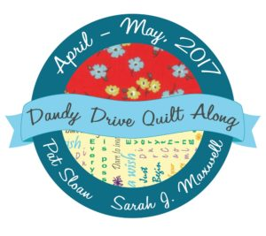 Dandy Drive Sew Along | 9 Patch