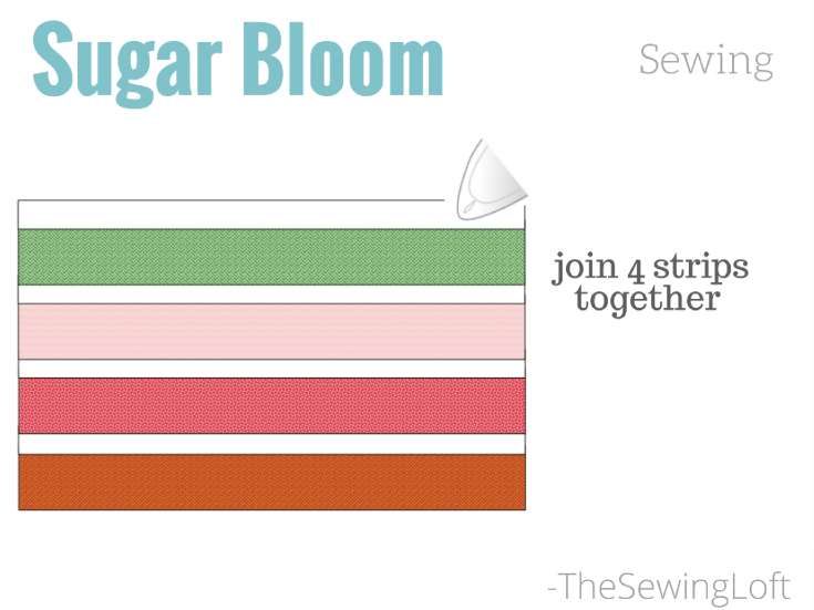 It's time to work on our Sugar Bloom Block Assembly and get this spring quilt under way. These easy tips will make quick work of the sewing time.