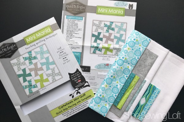 Learn how to strip piecing can speed your sewing with the Cartwheels Quilt. No matter what you sewing level this skill builder is one that you will want to have in your tool belt. Watch the video and see how easy it is.
