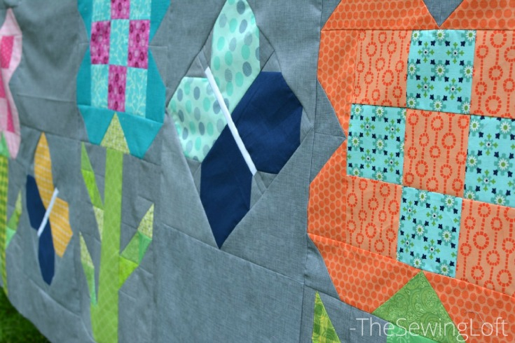 Take a look at my Dandy Drive final layout. The free quilt pattern is easy to make, a great way to use scraps and perfect for beginners.