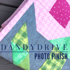 Dandy Drive Finished Quilt & Giveaway