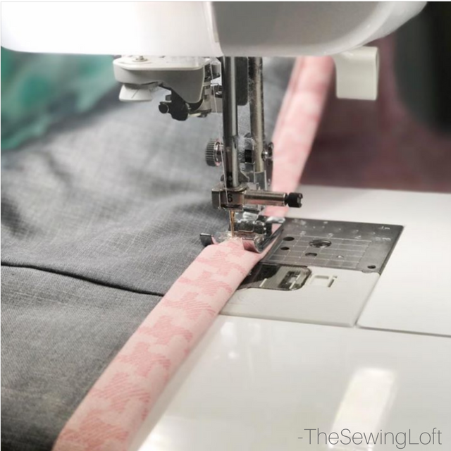 Machine Quilt Binding Vs Hand Stitching The Sewing Loft Impressive How To Sew Binding On A Quilt With A Machine