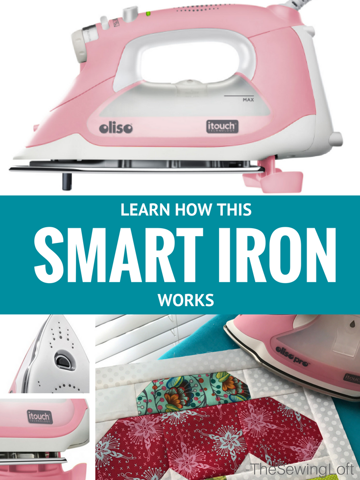 Learn how to use the Oliso Pro Smart Iron and enter to win your very own.