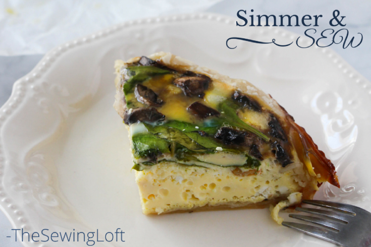 Thanks to the help of my slow cooker, I've been digging into to my stash bin and making these square peg minis. See my latest slow cooker easy quiche recipe here.