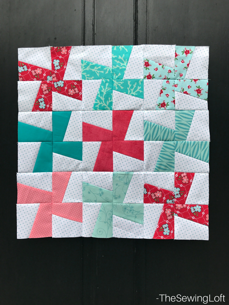 Strip piecing and templates make the Cartwheels Mini Quilt from Fabric Editions a quick and easy project. This skill builder is one that you will want to have in your tool belt- includes video.