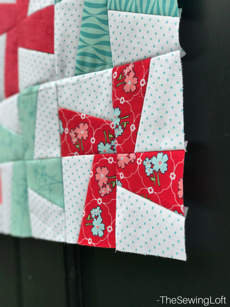 Brush up your quilting skills with this fun and fast project. The Cartwheels mini from Fabric editions features strip piecing and templates. This skill builder is one that you will want to have in your tool belt- includes video.
