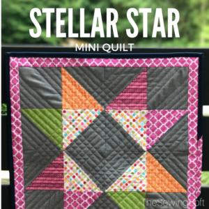 Quiltologie Mini Mania | Stellar Star