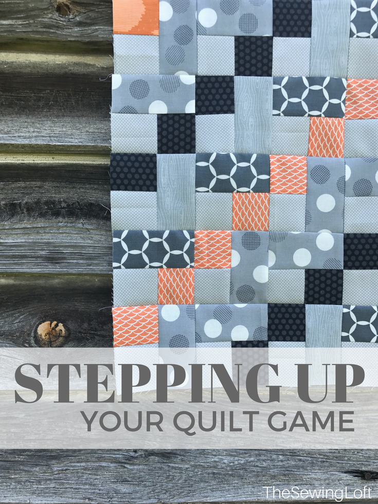 Thanks to the summer series on The Sewing Loft, I'm stepping up my quilting game with a few easy to follow diy quilting techniques. And I love the videos!!