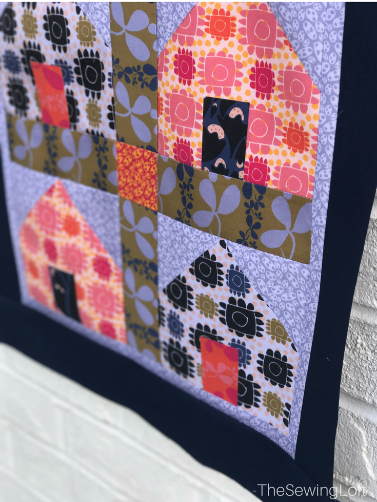 Measuring borders is easy with the Dwellings Quilt from Fabric Editions. See these quick tips and always measure right the first time, includes video.