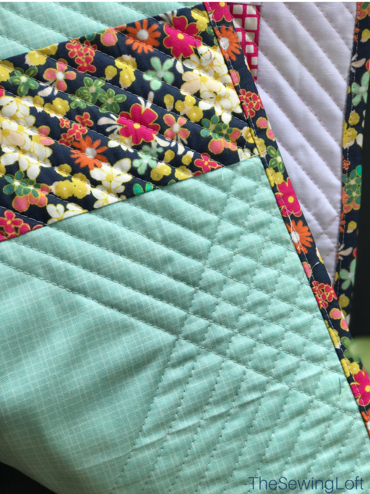 Learn how to create beautiful quilt binding with this simple DIY tip. Includes video tutorial to show you how to create this technique.