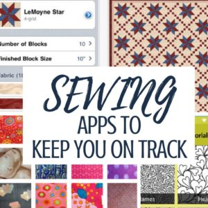 Sewing Apps Help You Streamline