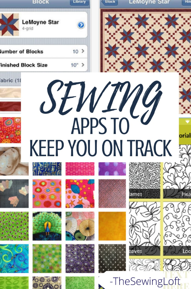 Technology has come so far and is helping us with everyday life, even our hobbies. Now, you can stay focused and on task with the help of these sewing apps.