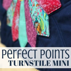 Turnstile Mini Quilt | Quiltologie