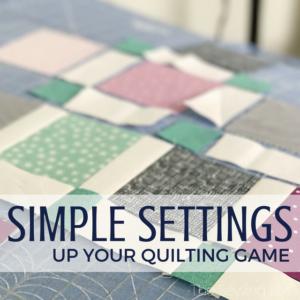 Quiltologie | Urban Trellis Mini Quilt