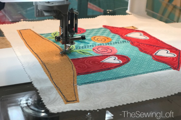 Join me and a few friends for the I love home quilt along. Each block offers a fun applique design for you to stitch out.