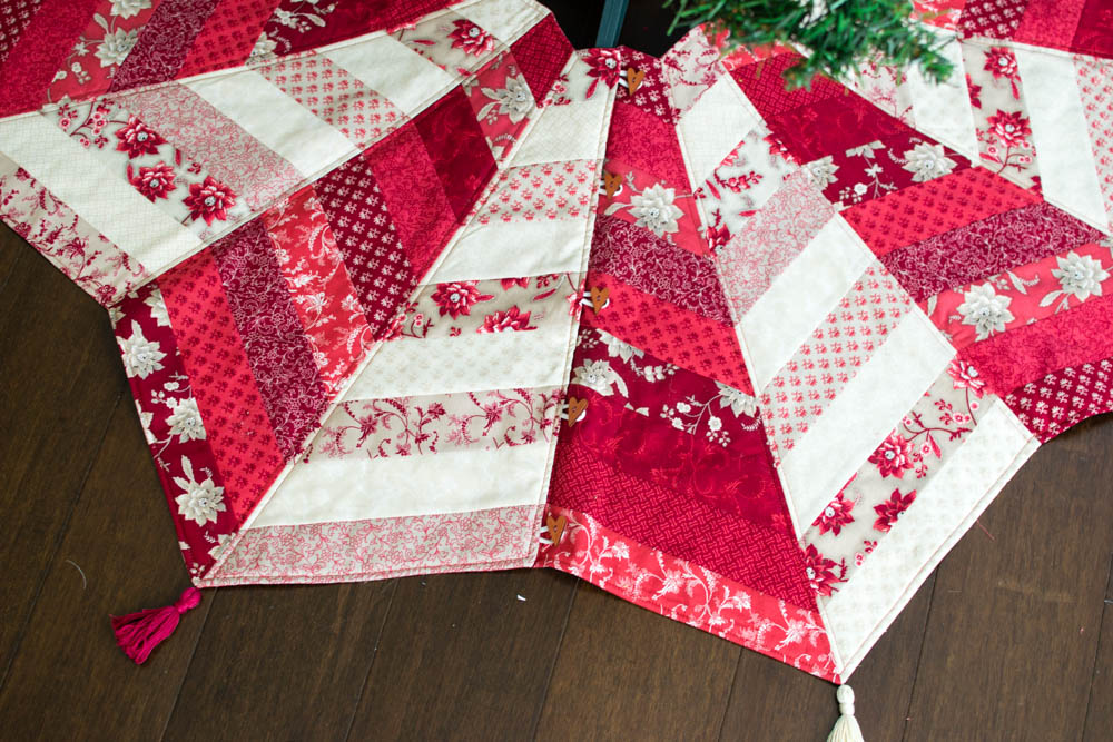 DIY Quilted Tree Skirt Video Class : quilted tree skirt pattern - Adamdwight.com