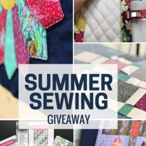 Dog Days of Summer Sewing | Quiltologie