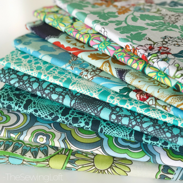 Switch up your stash with this month's Blue Skies fabric SWAP with the Scrappy Girls Club.