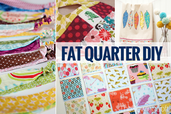 More Fat Quarter Friendly Projects