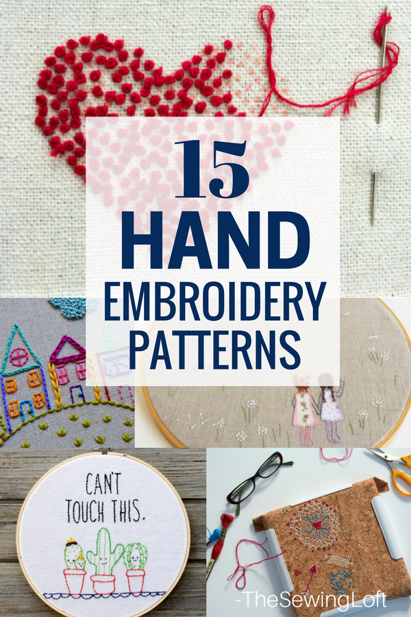15 Amazing Hand Embroidered Projects The Sewing Loft