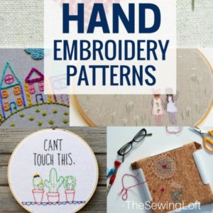 15 Amazing Hand Embroidered Projects