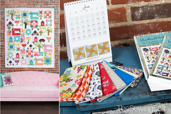Quilt market might be over but Inspiring Stitches Quilt Market adventure has just begun. Check out the latest happenings and look for Heartland Heritage.
