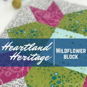 Wildflower Block | Heartland Heritage BOM