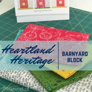 Barnyard Block | Heartland Heritage BOM