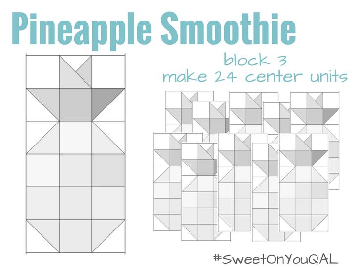 Pineapple Block | #SweetonyouQAL