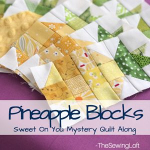 Pineapple Block | Sweet On You Mystery