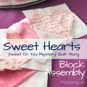 Sweet Hearts Block Sewing Instructions