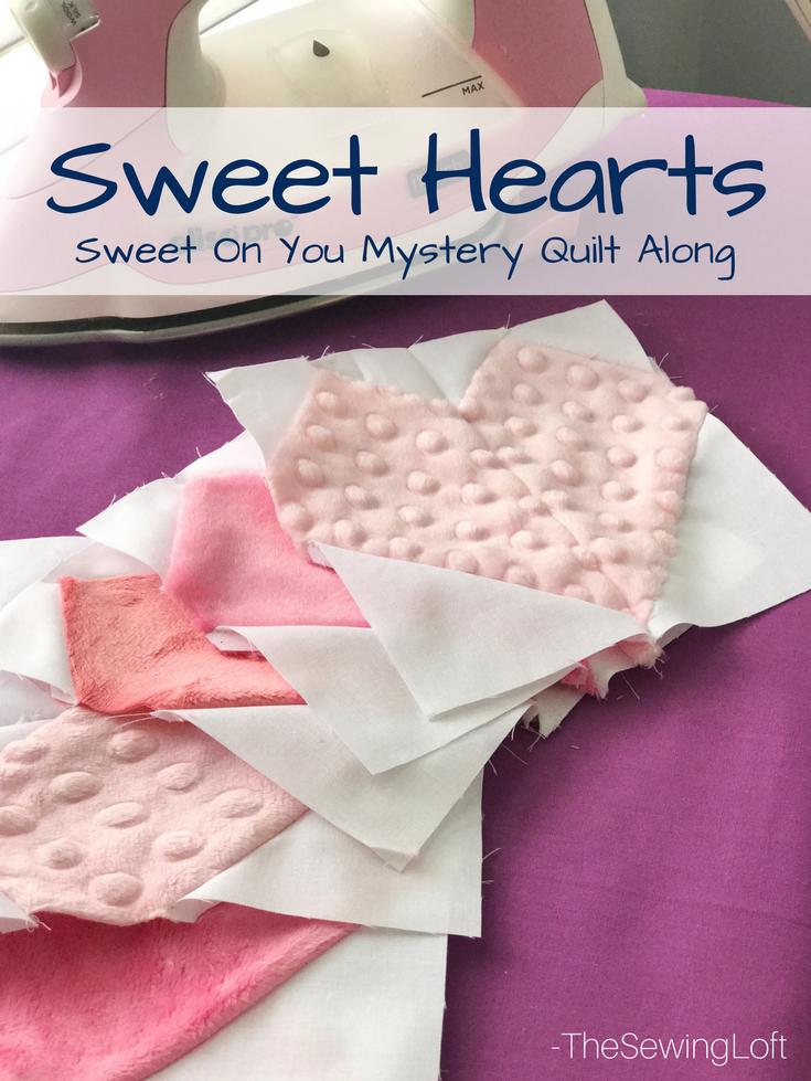 "Sweet Hearts Quilt Block | 6"" Free Block"