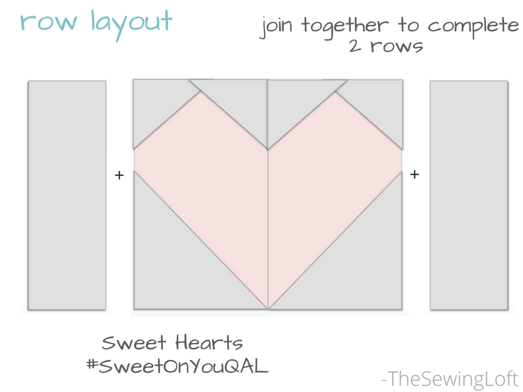 "Sweet Hearts Block | 6"" Free Block #SweetOnYouQAL"