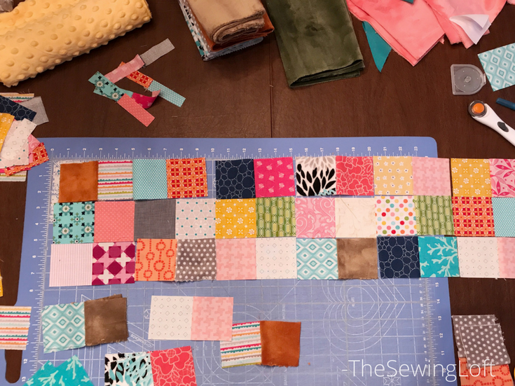Checkerboard block sewing | Sweet On You