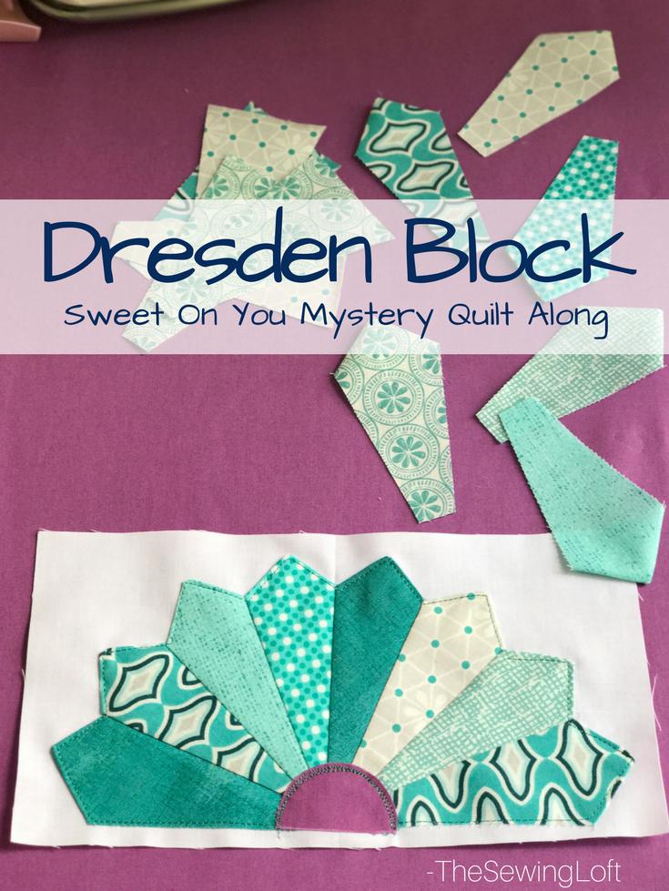 Darling Dresden Block | Free Quilt Block Pattern