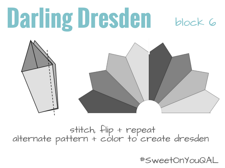 Darling Dresden Sewing Instructions | Free Quilt Block