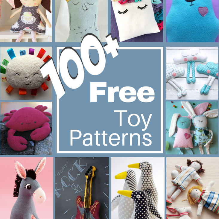 100 Stuffed Toy Diy Patterns The Sewing Loft