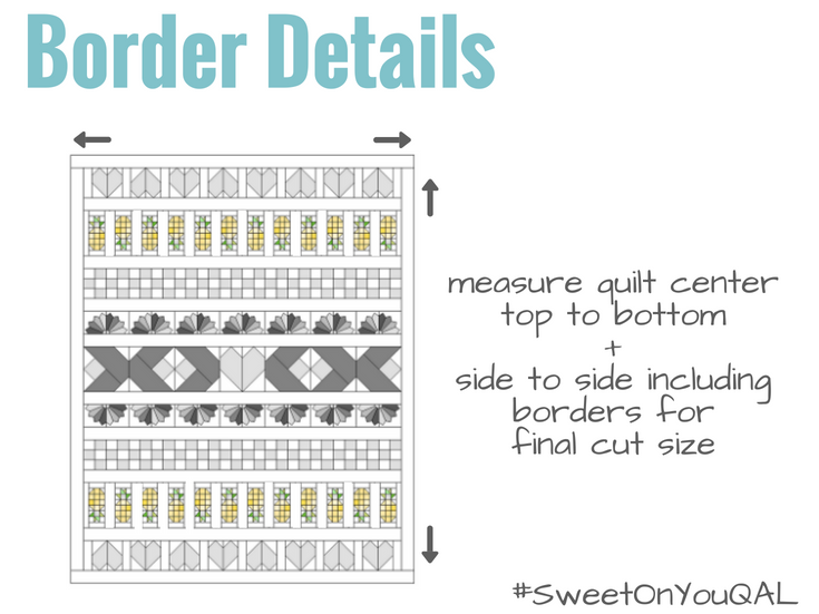 Border Details Sweet On You Quilt