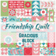 Friendship Quilt Pattern featuring the Gracious Block