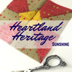 Sunshine Quilt Block | Heartland Heritage