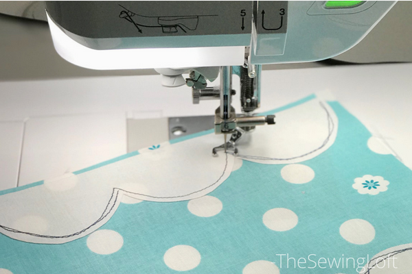 See how easy it is to create curved applique shapes while making the humorous  quilt block for the Friendship Quilt Along.