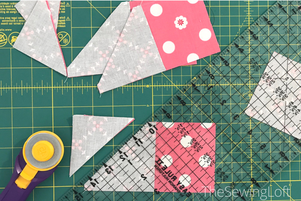 Using every last inch of your fabric. Tips for the loyal quilt block.