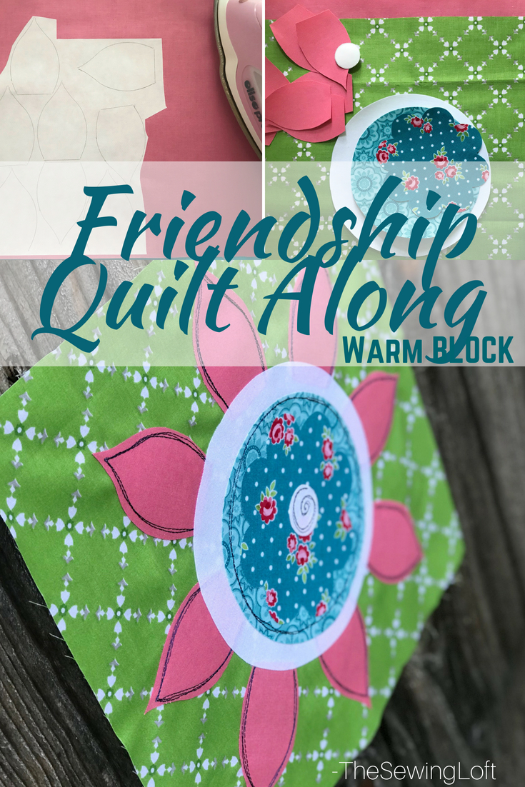 Warm Quilt Block | Friendship Quilt Along Free Pattern