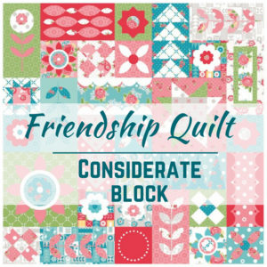 Considerate Quilt Block | Friendship Quilt Along