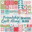 Friendship Quilt Along | Devoted Quilt Block