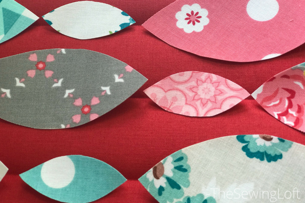 Use your iron to create a removable guideline for your design.